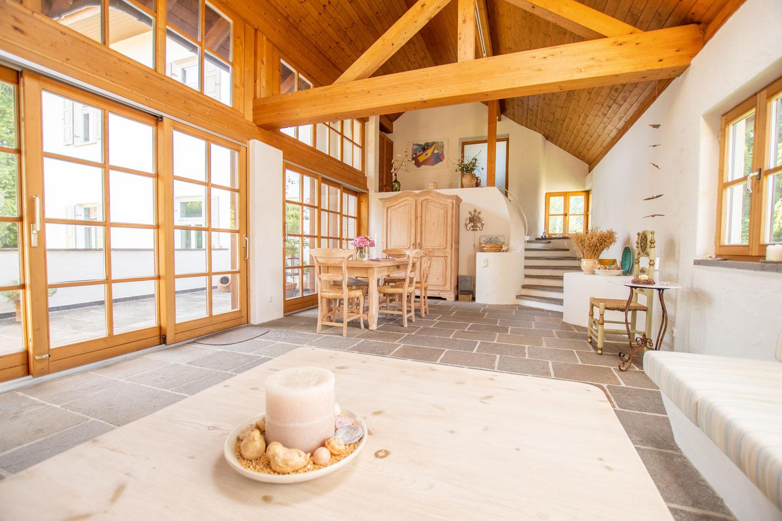 Innenaufnahme Landhaus Villa