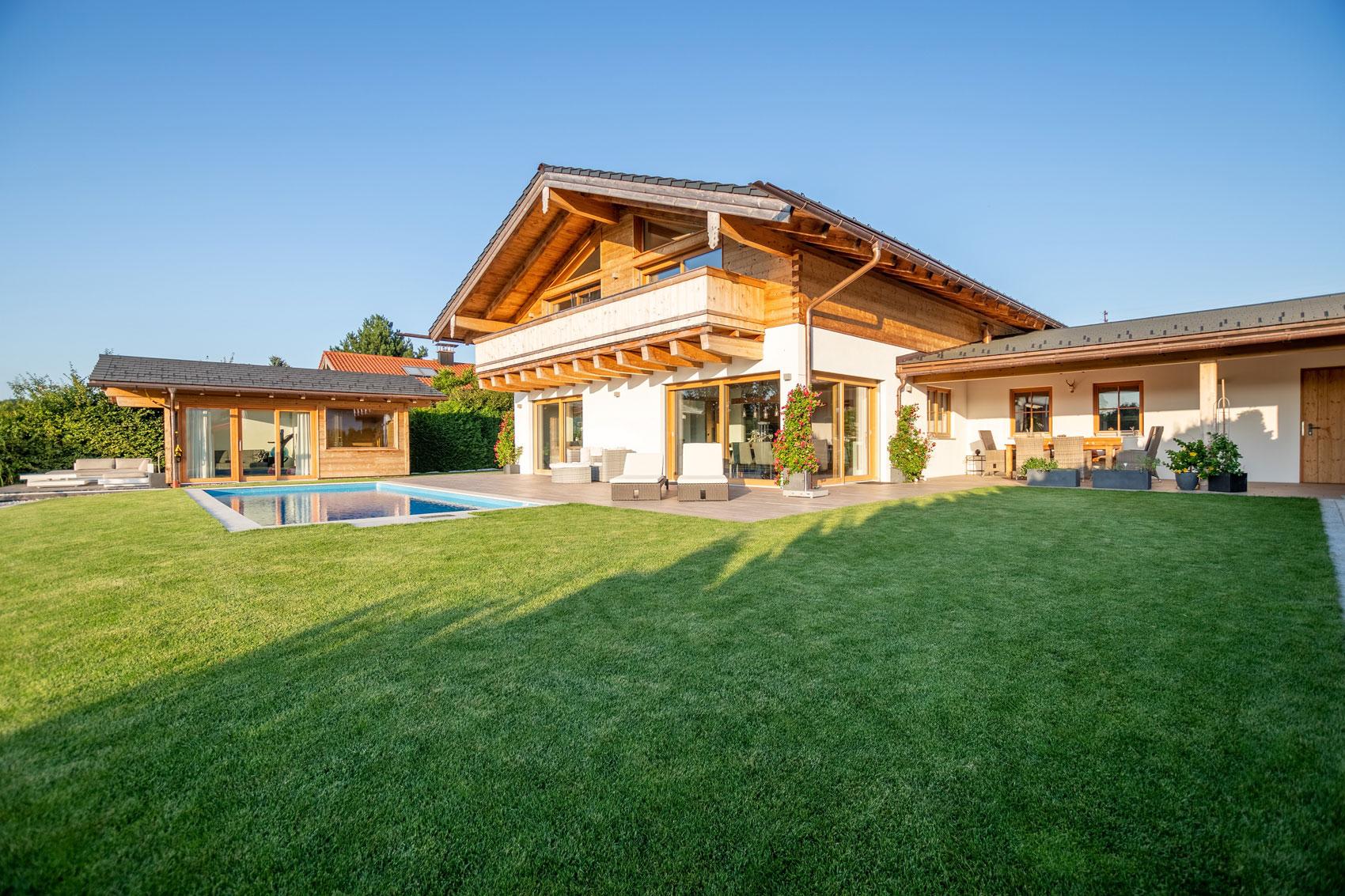 Immobilienfoto Landhaus Chiemsee